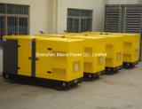 113kVA 90kw Yuchaiの無声ディーゼル発電機の防音の発電機
