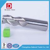Высокая точность 3 флейта карбида вольфрама со стороны шагающим подом мельница для углеродистая сталь