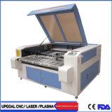Cabeças duplas 1600*1000mm de malha de CO2 máquina de corte a laser