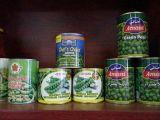 De hete het Verkopen Verse Uitstekende Kwaliteit van de Productie blikte Groene Erwten in