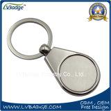 Corrente chave da liga feita sob encomenda do zinco com a inserção de aço em branco