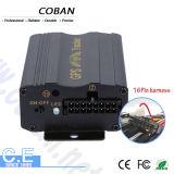 Software Tk 103 dell'inseguitore del veicolo di GPS con il video del livello di combustibile del sensore di scossa