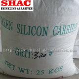 処理し難い粉の緑の炭化ケイ素
