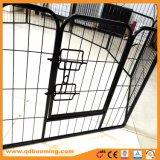 Le Pet Mate 8 panneaux de l'exercice avec l'étape à travers la porte de plumes