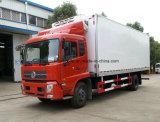 Il camion del frigorifero di Dongfeng delle 6 rotelle 10 tonnellate ha refrigerato Van