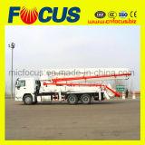37m 39m Caminhão-Montou o caminhão da bomba concreta com colocação do crescimento