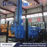 400mの深さの井戸の掘削装置、モデルHfw400LのクローラーDTH掘削装置