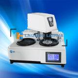 El MP-2D los motores de doble disco de doble modelo de máquina de pulido de molienda de metalografía