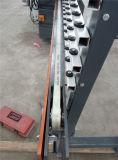 9개의 헤드 45 도 변경 유리제 직선 기계