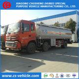 Caminhão de petroleiro do petróleo dos eixos 23000liters de Dongfeng 6X2 6X4 3