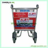 3つの車輪安いアルミニウム空港手荷物のトラックを容易に運びなさい