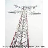 torre del acero de Electirc de la transmisión de potencia 750kv