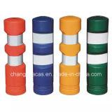 Barrera portable flexible plástica