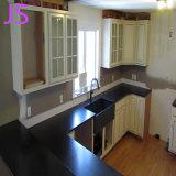 Абсолютное черного гранита и мрамора кухонном столе бар счетчик