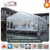 De elegante Transparante Tent Voor alle weersomstandigheden van de Partij van het Huwelijk van de Markttent van het Banket