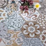 Geometrie-bunte Blumen-Muster-Hexagon-Fliesen