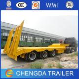 3 rimorchio del camion di Lowbed di marca dell'asse 60ton Chengda