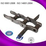 Encadenamiento de acero soldado serie de la transmisión del estrecho del rodillo del estándar industrial de la fricción