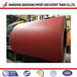 Bobina de Aço Galvanizado PPGI Prepainted provenientes da China