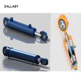 Componentes do pistão hidráulico do cilindro hidráulico de dupla acção do cilindro hidráulico de gato
