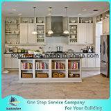 Agitador blanco estándar de alta calidad de madera maciza puerta de armario de cocina