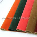 Sapata de alta qualidade Material Superior, PU Decalcomania Fabric