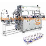 Automatische PET Beutel-Toilettenpapier-Gewebe Bundler Verpackungsmaschine