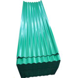 Folha de aço corrugado Prepainted usado de revestimentos betumados
