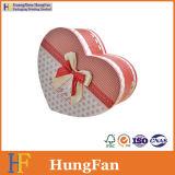 Cadre de papier de empaquetage de mariage de sucrerie de chocolat de forme de coeur
