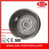 Peça de maquinaria de alumínio do CNC da ferragem