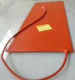 """calefator flexível da borracha de silicone 11 """" *32 """" para a placa de metal"""