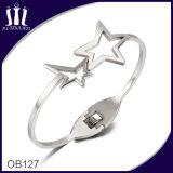 Das Stern-Treffen-silberne Armband Ob127
