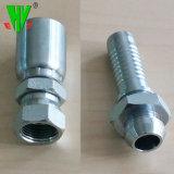 Raccords d'extrémité du flexible hydraulique de Parker métrique standard des raccords hydrauliques Embout de tuyau