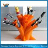 O silicone parte o serviço de impressão 3D
