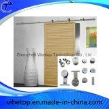 システムを滑らせる卸し売りステンレス鋼の木のドア