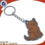 Cheap animal en forme de publicité porte-clés en métal photo numérique (FTKC1842A)