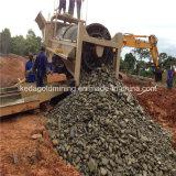 Seifenerz-Trommel-Goldwaschmaschine in Ghana