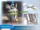 Calefacción eléctrica tanque de mezcla cosmética emulsionante Tanque