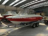 El FRP 5.8m baratos velocidad Ocio Sport Boat 8 persona