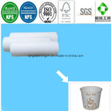 Papel biodegradable taza de té, café y el papel