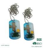 製造業者の直売のネックレスが付いている最上質アルミニウムドッグタッグ