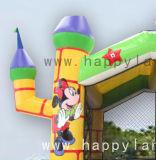 Надувные мультфильм стиле тема Bouncer прыжком замок