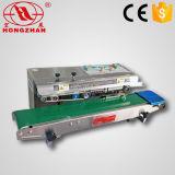 Vedante de banda contínua de filme plástico de tipo horizontal selagem a quente da máquina com o código de data