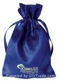 Custom печать шелковые ожерелья сумки