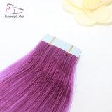 De violette Band van de Kleur Pu in de Band van de Manier van de Uitbreidingen van het Menselijke Haar Remy van 100% in de Uitbreidingen van het Haar