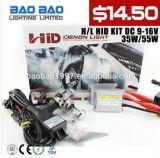 H4-2, H4-3, HID Kit, Farol HID Kit HID Xenon, H1, H3, H4, H7, H11, 9005, 9006, 3000k--Iluminação Baobao