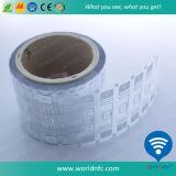 ISO18000-6c Alien H3 adesivo passivo UHF etiqueta RFID