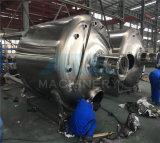 A mistura de líquidos de Aço Inoxidável sanitário com o agitador do tanque