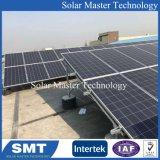 편평한 지붕 태양 전지판 Brackets&Pitch 지붕 태양 설치