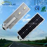 20W COB Outdoor Rue lumière LED solaire intégré